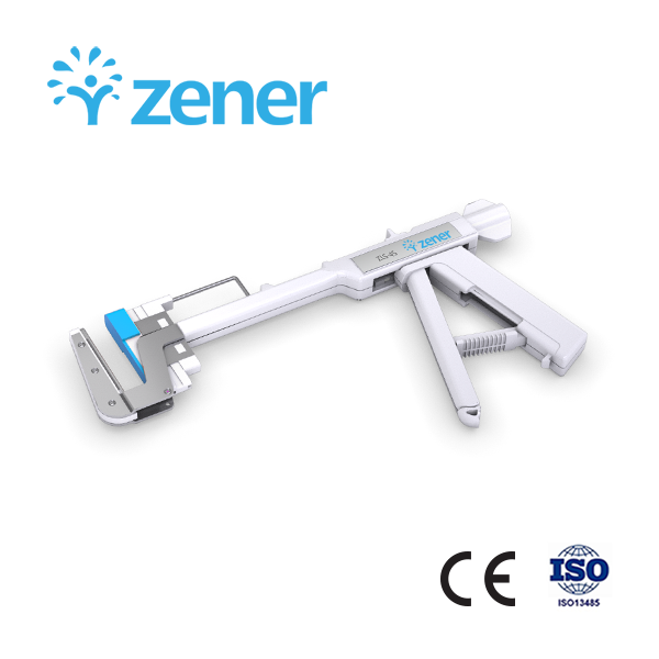 Zener Disposable Linear Stapler and Cartridge, with CE/ISO Certificate, for Stomach Surgery, Wholesale High Quality, Medical Surgical Instrument, Titanium Nails, 30mm, 45mm, 60mm, 90mm