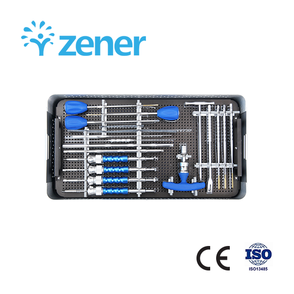 ,Titanium Alloy, Orthopedic Implant, Spine, Surgical, Medical Instrument Set, with CE/ISO/FDA, Dislocation, Fracture, Lumber and Cervical Verterbra, Minimally Invasive, Scoliosis, Fusion
